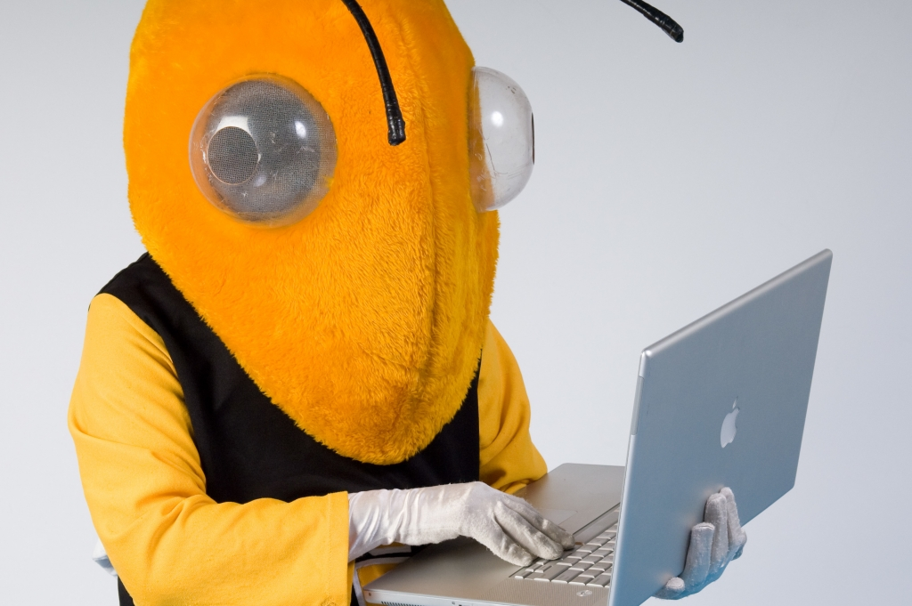 buzz on a computer