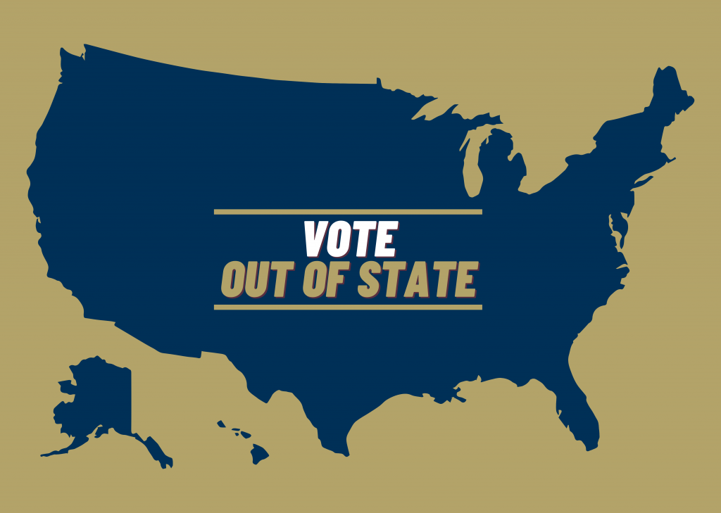 Vote out of state